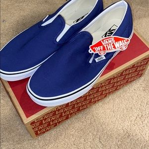NWT Vans Slip On Navy Blue